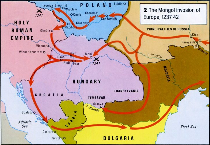 mongols conquest The mongols focus questions: in which ways were the mongols a typical pastoral society how did genghis khan create a massive land empire before his death in 1227.